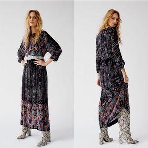 Antik Batik Emilie Beaded Midi Dress